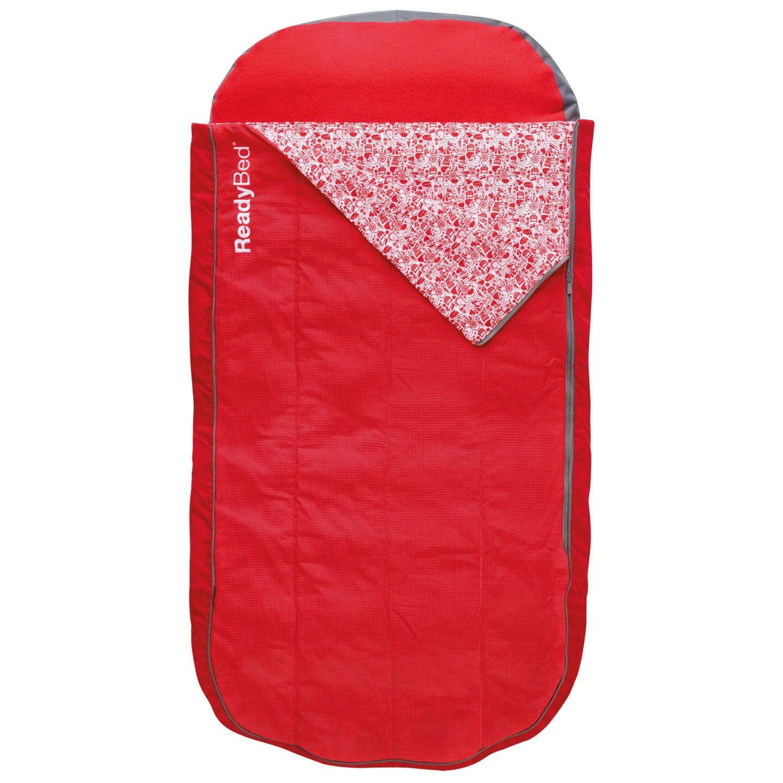 Luftmadras med sovepose Deluxe Junior