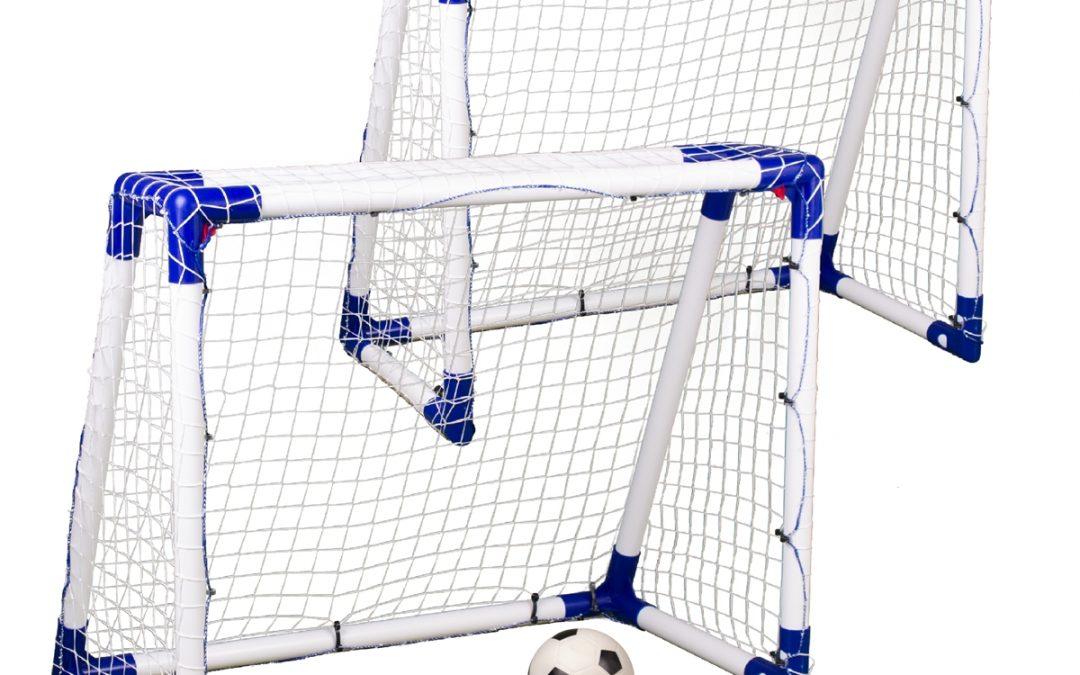 Target Sport Juniormål i Plast – 2 stk. inkl. bold